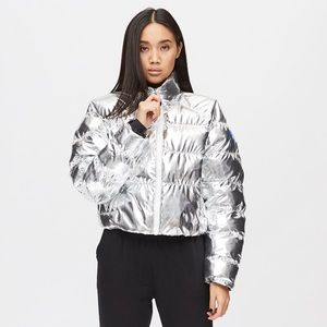 Nike foil puffer jacket